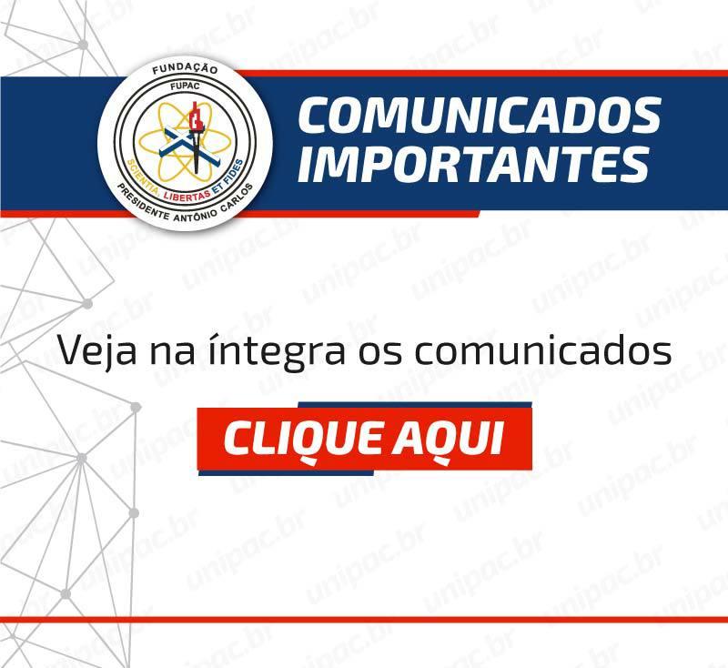 Comunicados – mobile – 30/03/2020