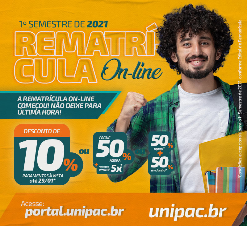 Rematrícula On-line – 12/01/2020 – mobile
