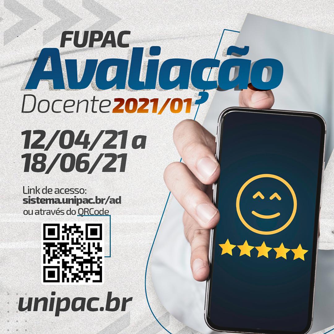Avaliação Docente – 12/04/2021 – mobile