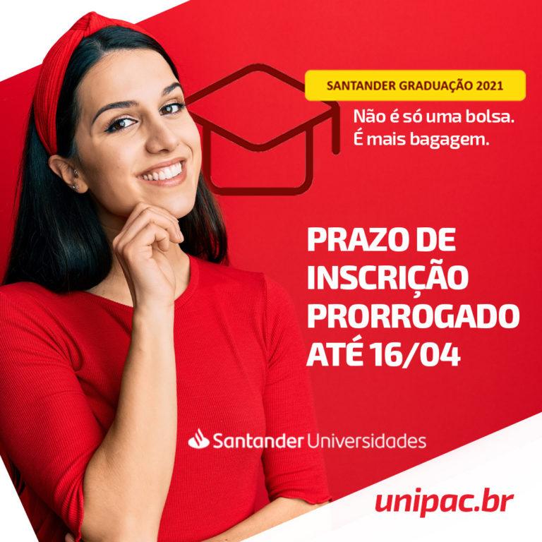 Santander Graduação – Unipac