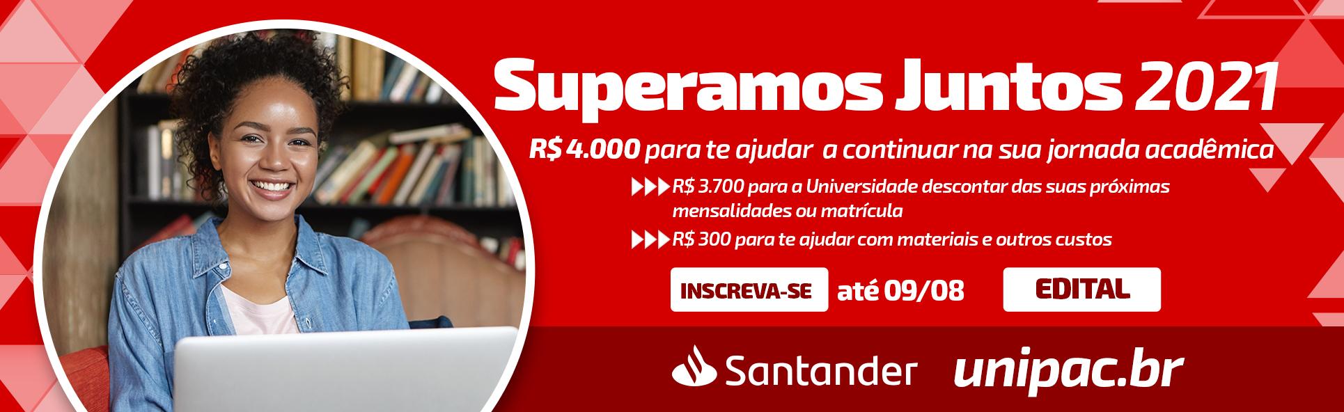 Santander Superamos Juntos – desktop