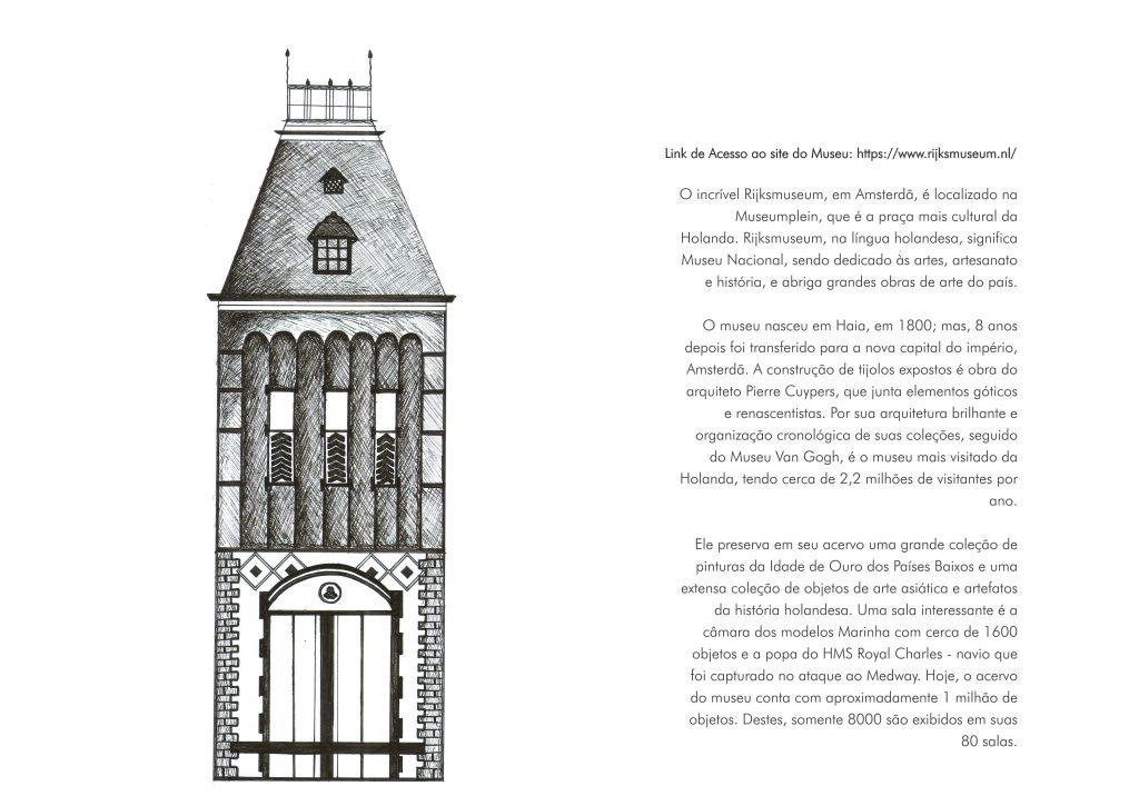 O caderno conta com 96 páginas e são ilustrados 20 museus