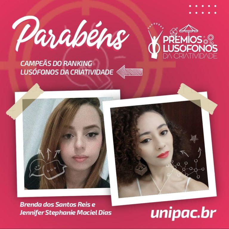 Brenda Santos e Jennifer Dias, ganharam o troféu Estudantes Lusos do Ano