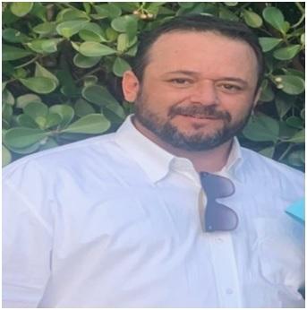 O egresso do curso de Engenharia Civil da UNIPAC Lafaiete, Fabiano Achilles de Souza Braga