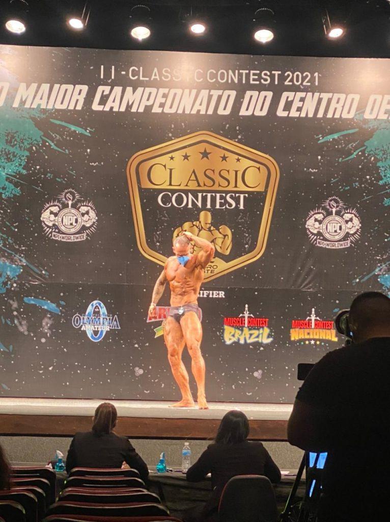 Campeonato de fisiculturismo Classic Contest Goiânia