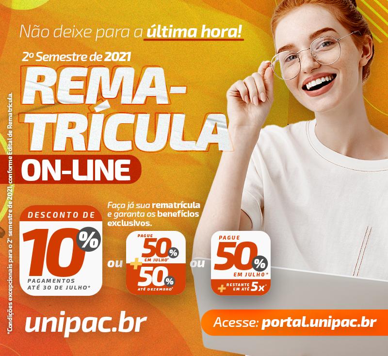Rematrícula On-line – mobile