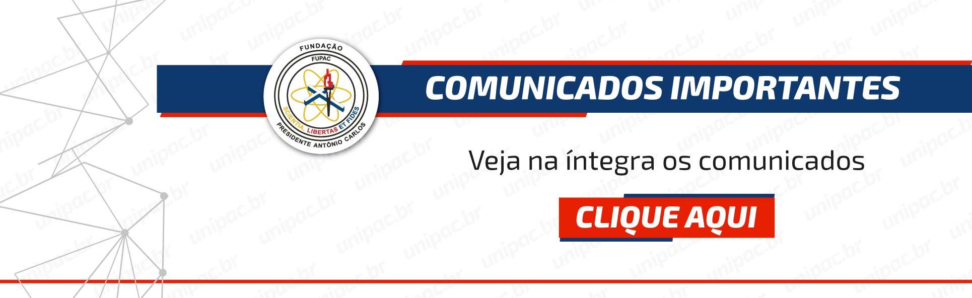Comunicados – desktop – 30/03/2020